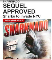 Sharknado 2 Invades NYC