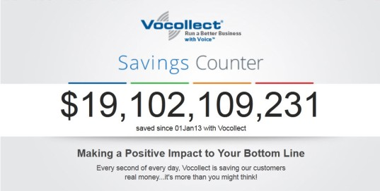 Vocollect Savings Counter 15 November 2013
